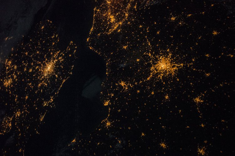 A tale of two cities: London and Paris at night
