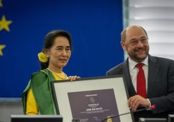 Committing a Genocide and Keeping your Sakharov Prize next to your Nobel Peace Prize